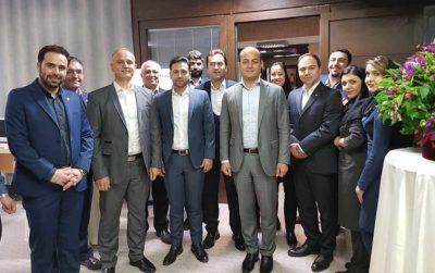 افتتاح شعبه بانک - بیمه بیمه سامان